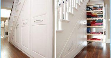 Quelle est l'utilité et magnifiquement organiser le lieu sous l'escalier