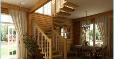 Comment faire un escalier en colimaçon à l'étage, grenier