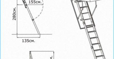 Installation escalier du grenier avec vidéo