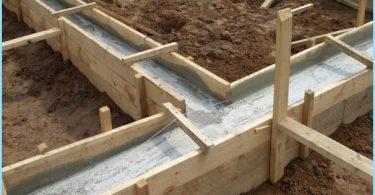 Les proportions du béton pour la fondation