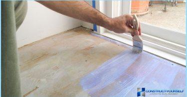 Comment et quoi peindre le plancher