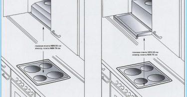 Comment installer la hotte sur le poêle à gaz