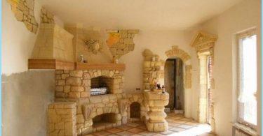 four à pierre pour les bains et les maisons