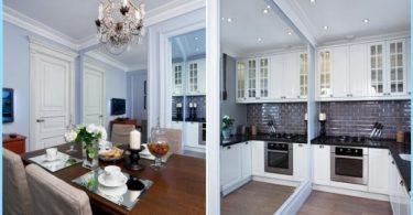 Kitchen Studio 20, 18, 16 sq. m. - Design moderne élégant