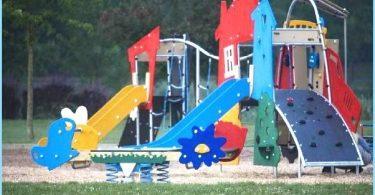 Installation d'une aire de jeux pour enfants avec ses propres mains