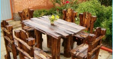Comment faire une table de chalet en bois