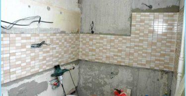 La disposition de câblage dans la salle de bain