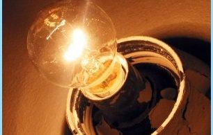 Raisons scintillement de la lumière dans l'appartement