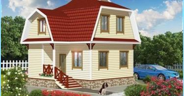 Faire de la terrasse sur le toit dans la maison seule