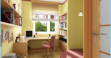 chambre d'étudiant de conception moderne