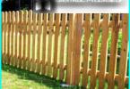 palissade en bois avec leurs mains: sur la gestion de la construction